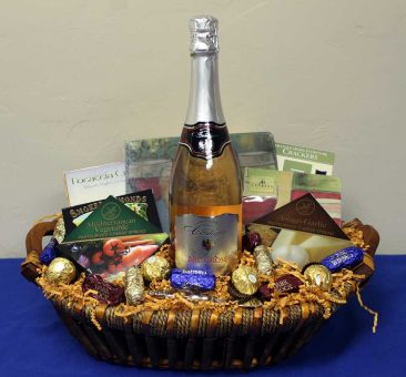 Another Abbott Taylor Jewelers gift basket.