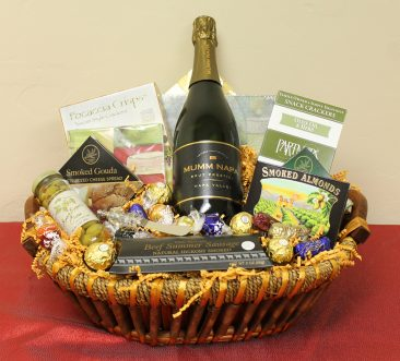 This basket was designed special for Abbott Taylor Jewelers.