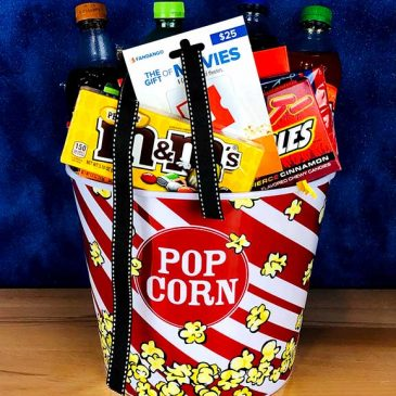 Movie Time Basket